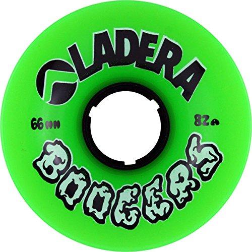 ウィール タイヤ スケボー スケートボード 海外モデル Ladera Boogers Green Longboard Wheels - 66mm 82a (Set of 4)ウィール タイヤ スケボー スケートボード 海外モデル