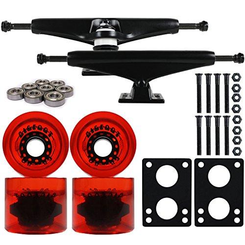 ウィール タイヤ スケボー スケートボード 海外モデル DECK LONGBOARD Skateboard TRUCKS BIGFOOT 68 FLEX WHEELS Packウィール タイヤ スケボー スケートボード 海外モデル DECK