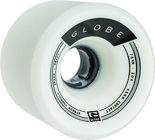 ウィール タイヤ スケボー スケートボード 海外モデル 10125028 GLOBE HG Trooper Wheels, White, 70mmウィール タイヤ スケボー スケートボード 海外モデル 10125028
