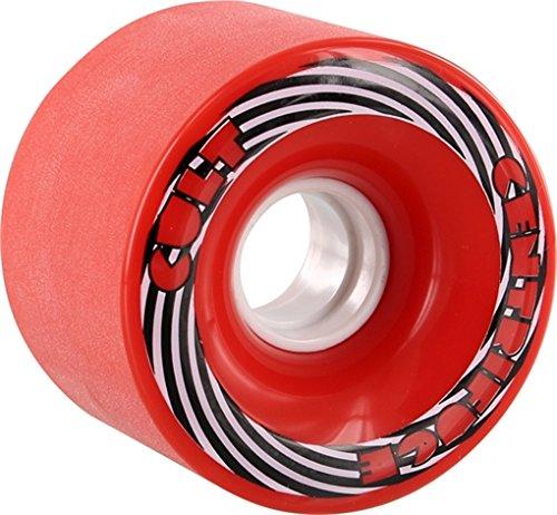 ウィール タイヤ スケボー スケートボード 海外モデル Cult Centrifuge Stoneground 71mm 83a Red Wheels (Set Of 4)ウィール タイヤ スケボー スケートボード 海外モデル