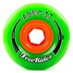 ウィール タイヤ スケボー スケートボード 海外モデル ABEC 11 Freerides Classic 72mm 84A Longboard Wheelsウィール タイヤ スケボー スケートボード 海外モデル
