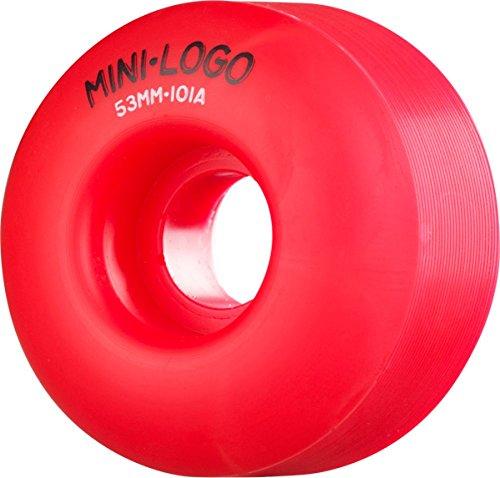 ウィール タイヤ スケボー スケートボード 海外モデル MINI LOGO C-CUT 53mm 101a RED pp Skateboard Wheelsウィール タイヤ スケボー スケートボード 海外モデル