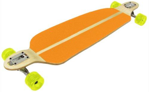ウィール タイヤ スケボー スケートボード 海外モデル DECK DROP THROUGH / DOWN LONGBOARD Downhill Racing SPEED BOARD - ORANGEウィール タイヤ スケボー スケートボード 海外モデル DECK