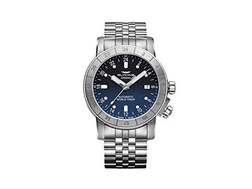 グリシン スイスウォッチ 腕時計 メンズ グライシン 【送料無料】Glycine Airman Mens Analog Automatic Watch with Stainless Steel Bracelet GL0068グリシン スイスウォッチ 腕時計 メンズ グライシン