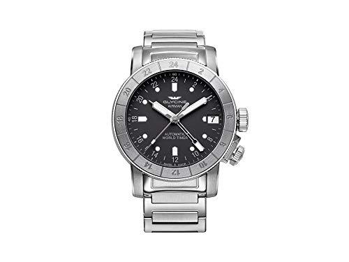 グリシン スイスウォッチ 腕時計 メンズ グライシン 【送料無料】Glycine Airman Mens Analog Swiss Automatic Watch with Stainless Steel Bracelet GL0168グリシン スイスウォッチ 腕時計 メンズ グライシン