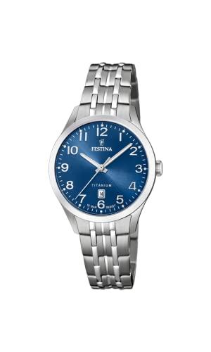 フェスティナ フェスティーナ スイス 腕時計 レディース 【送料無料】Festina Womens Analogue Quartz Watch with Titanium Strap F20468/2フェスティナ フェスティーナ スイス 腕時計 レディース