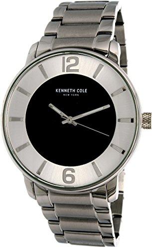 """ケネスコール・ニューヨーク Kenneth Cole New York 腕時計 メンズ 【送料無料】Kenneth Cole Men""""s 10031717 Silver Stainless-Steel Quartz Watchケネスコール・ニューヨーク Kenneth Cole New York 腕時計 メンズ"""