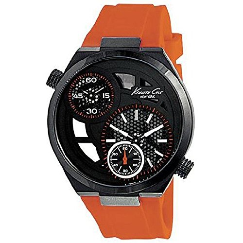 ケネスコール・ニューヨーク Kenneth Cole New York 腕時計 メンズ 【送料無料】Kenneth Cole New York Silicone - Orange Men's watch #KC8027ケネスコール・ニューヨーク Kenneth Cole New York 腕時計 メンズ