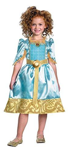 メリダとおそろしの森 メリダ ブレイブ ディズニープリンセス 【送料無料】Girls Disney Pixars Classic Brave Merida Costume, Small (4-6X)メリダとおそろしの森 メリダ ブレイブ ディズニープリンセス