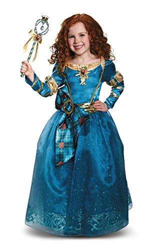 メリダとおそろしの森 メリダ ブレイブ ディズニープリンセス 【送料無料】Disney Princess Merida Brave Prestige Girls' Costumeメリダとおそろしの森 メリダ ブレイブ ディズニープリンセス