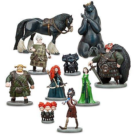 メリダとおそろしの森 メリダ ブレイブ ディズニープリンセス 【送料無料】Disney Pixar Brave Deluxe 10 PC Figurine Setメリダとおそろしの森 メリダ ブレイブ ディズニープリンセス
