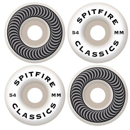 ウィール タイヤ スケボー スケートボード 海外モデル 2001000154 Spitfire Classic Series 54mm High Performance Skateboard Wheel (Set of 4)ウィール タイヤ スケボー スケートボード 海外モデル 2001000154