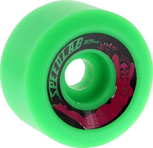 ウィール タイヤ スケボー スケートボード 海外モデル Speedlab Wheels Bombshells Green Skateboard Wheels - 57mm 99a (Set of 4)ウィール タイヤ スケボー スケートボード 海外モデル