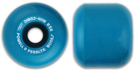 ウィール タイヤ スケボー スケートボード 海外モデル Powell Mini Cubic Blue Re-Issue - Set of 4 Wheelsウィール タイヤ スケボー スケートボード 海外モデル