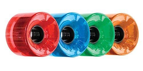 ウィール タイヤ スケボー スケートボード 海外モデル DECK OJ Wheels III Hot Juice 78A 60mm Candy Trans Combo Skateboard Wheels (Set of 4)ウィール タイヤ スケボー スケートボード 海外モデル DECK