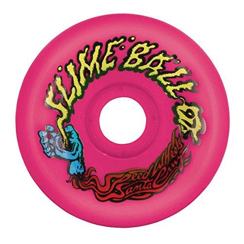 ウィール タイヤ スケボー スケートボード 海外モデル 22221892 Santa Cruz Skate Slime Balls Vomit Skateboard Wheels 60mm / 97a Neon Pinkウィール タイヤ スケボー スケートボード 海外モデル 22221892