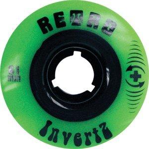 ウィール タイヤ スケボー スケートボード 海外モデル RETRO INVERTZ PARK PLUS 61mm 99a GREEN (Set Of 4)ウィール タイヤ スケボー スケートボード 海外モデル