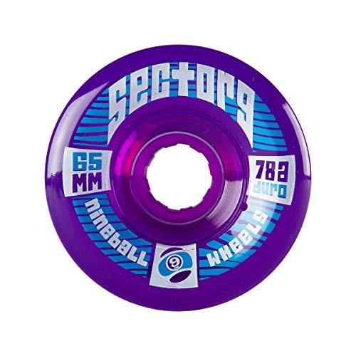 ウィール タイヤ スケボー スケートボード 海外モデル 65TS784-Purple Sector 9 Top Shelf Nine Balls Skateboard Wheel, Purple, 65mm 78Aウィール タイヤ スケボー スケートボード 海外モデル 65TS784-Purple