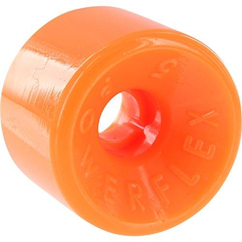 ウィール タイヤ スケボー スケートボード 海外モデル Powerflex 5 63mm 88a Orange Longboard Wheels (Set of 4)ウィール タイヤ スケボー スケートボード 海外モデル