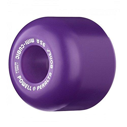ウィール タイヤ スケボー スケートボード 海外モデル Powell Mini Cube (95a) Purple 64mm Skateboard Wheels (Set Of 4)ウィール タイヤ スケボー スケートボード 海外モデル