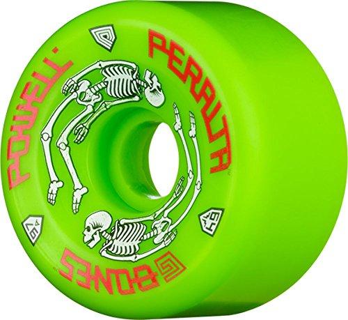 ウィール タイヤ スケボー スケートボード 海外モデル Powell Peralta G-Bones II 97A 64mm Green Skateboard Wheels (Set of 4)ウィール タイヤ スケボー スケートボード 海外モデル