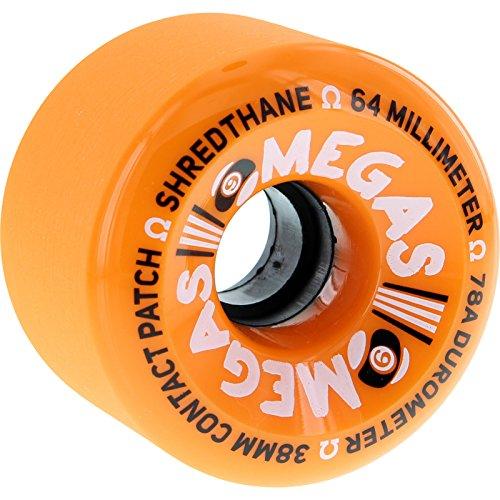 ウィール タイヤ スケボー スケートボード 海外モデル Sector 9 Omega Orange Skateboard Wheels - 64mm 78a (Set of 4)ウィール タイヤ スケボー スケートボード 海外モデル
