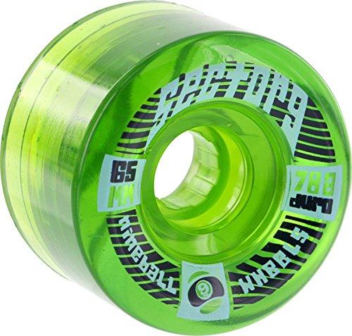 ウィール タイヤ スケボー スケートボード 海外モデル Sector 9 Top Shelf 65mm 78a Green Center Set Skate Wheelsウィール タイヤ スケボー スケートボード 海外モデル