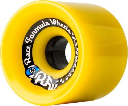 ウィール タイヤ スケボー スケートボード 海外モデル Sector 9 Race Formula Yellow Longboard Wheels - 69mm 78a (Set of 4)ウィール タイヤ スケボー スケートボード 海外モデル