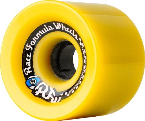 ウィール タイヤ スケボー スケートボード 海外モデル 70R2784 Sector 9 Race Formula Off-Set Skateboard Wheel, Yellow, 70mm 78Aウィール タイヤ スケボー スケートボード 海外モデル 70R2784