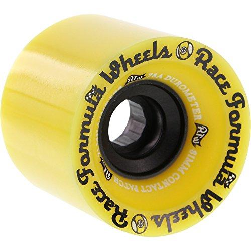 ウィール タイヤ スケボー スケートボード 海外モデル Sector 9 Race Formula Offset Yellow Skateboard Wheels Offset - 71mm 78a (Set of 4)ウィール タイヤ スケボー スケートボード 海外モデル