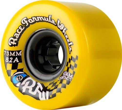 ウィール タイヤ スケボー スケートボード 海外モデル Sector 9 Race Formula 73mm 78A Yellow Center Set Skateboard Wheels (Set of 4)ウィール タイヤ スケボー スケートボード 海外モデル