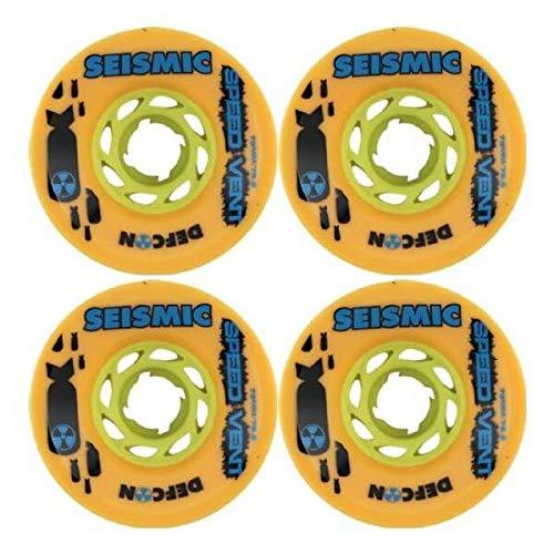 ウィール タイヤ スケボー スケートボード 海外モデル Seismic Speed Vent 73mm 78.5a Mango Defcon Wheels (Set Of 4)ウィール タイヤ スケボー スケートボード 海外モデル