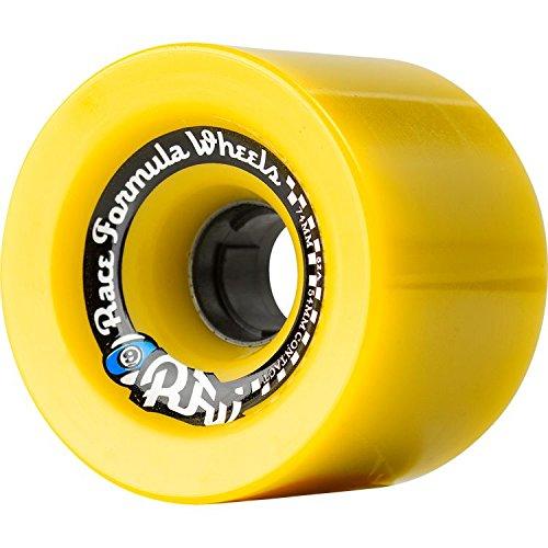 ウィール タイヤ スケボー スケートボード 海外モデル Sector 9 Race Formula Longboard Wheels 74mm 78a - Off Set Yellowウィール タイヤ スケボー スケートボード 海外モデル