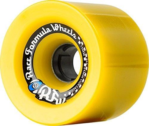 ウィール タイヤ スケボー スケートボード 海外モデル Sector 9 Race Formula Race Formula Offset Yellow Longboard Wheels - 74.5mm 78a (Set of 4)ウィール タイヤ スケボー スケートボード 海外モデル