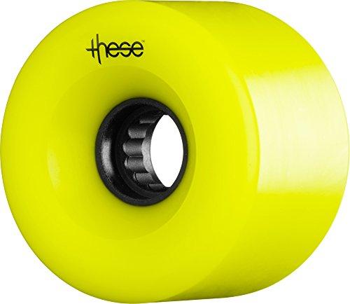 ウィール タイヤ スケボー スケートボード 海外モデル WLAUTAT6982Y4 These Wheels ATF 327 Wheels, 69mm x 82a, Yellowウィール タイヤ スケボー スケートボード 海外モデル WLAUTAT6982Y4