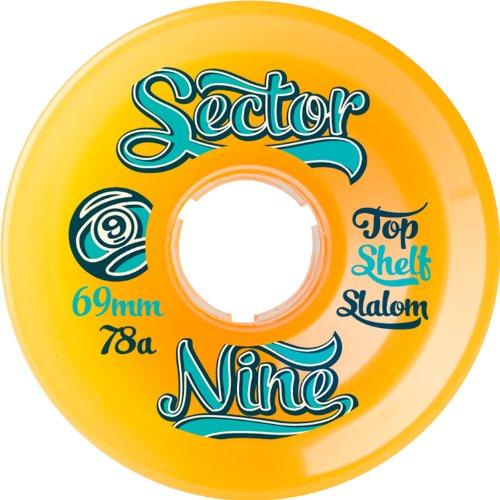 ウィール タイヤ スケボー スケートボード 海外モデル 69NB784-Orange Sector 9 Top Self Nine Balls Skateboard Wheel, Orange, 69mm 78Aウィール タイヤ スケボー スケートボード 海外モデル 69NB784-Orange