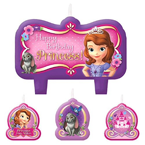 ちいさなプリンセス ソフィア ディズニージュニア Candle Set   Disney Sofia The First Collection   Birthday   6 Setsちいさなプリンセス ソフィア ディズニージュニア