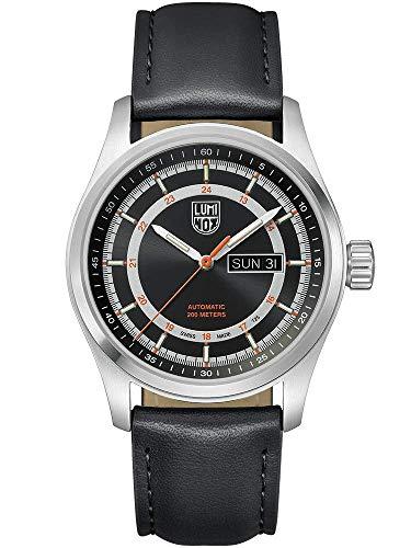 Atacama Orange 1900 ルミノックス メンズ Automatic Field ルミノックス Watch 腕時計 Sunray Leather Series 【送料無料】Luminox Strap   Dial メンズ Black, アメリカ海軍SEAL部隊 ミリタリーウォッチ Black 腕時計 アメリカ海軍SEAL部隊 ミリタリーウォッチ