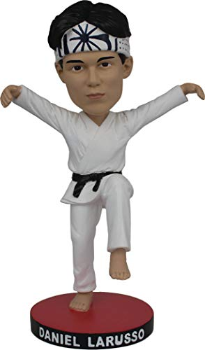 ボブルヘッド バブルヘッド 首振り人形 ボビンヘッド BOBBLEHEAD 【送料無料】Icon Heroes JUN188846 Karate Kid: Daniel Larusso Bobble Headボブルヘッド バブルヘッド 首振り人形 ボビンヘッド BOBBLEHEAD