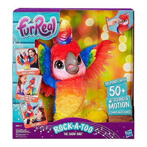 ファーリアルフレンズ ぬいぐるみ 動く 鳴く お世話 【送料無料】FurReal Exclusive Limited Edition Rock-A-Too Rock A Too The Show Bird!ファーリアルフレンズ ぬいぐるみ 動く 鳴く お世話