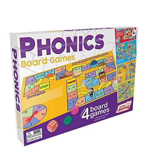 ボードゲーム 英語 アメリカ 海外ゲーム Junior Learning Phonics Board Gamesボードゲーム 英語 アメリカ 海外ゲーム