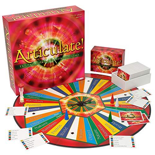 ボードゲーム 英語 アメリカ 海外ゲーム 【送料無料】TOMY Articulate Family Board Game, U.S. Versionボードゲーム 英語 アメリカ 海外ゲーム