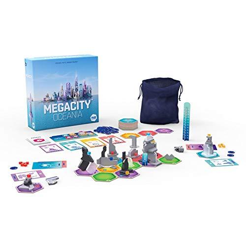 ボードゲーム 英語 アメリカ 海外ゲーム 【送料無料】HUB Megacity Oceania Board Game, Multicolorボードゲーム 英語 アメリカ 海外ゲーム