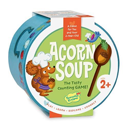 ボードゲーム 英語 アメリカ 海外ゲーム Peaceable Kingdom Acorn Soup - Game for You and Your 2-Year-Oldボードゲーム 英語 アメリカ 海外ゲーム