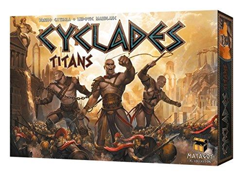 ボードゲーム 英語 アメリカ 海外ゲーム 【送料無料】Cyclades: Titans Expansionボードゲーム 英語 アメリカ 海外ゲーム