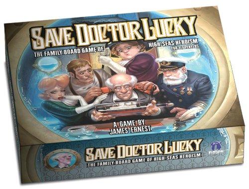 ボードゲーム 英語 アメリカ 海外ゲーム 【送料無料】Save Doctor Lucky Gameボードゲーム 英語 アメリカ 海外ゲーム