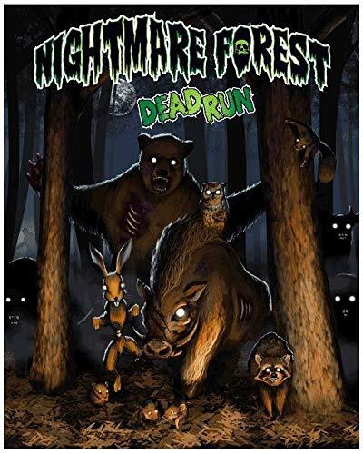 ボードゲーム 英語 アメリカ 海外ゲーム 【送料無料】Nightmare Forest: Dead Run Board Gameボードゲーム 英語 アメリカ 海外ゲーム