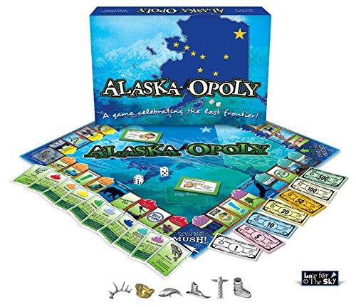 ボードゲーム 英語 アメリカ 海外ゲーム 【送料無料】Late for the Sky Alaska-Opolyボードゲーム 英語 アメリカ 海外ゲーム