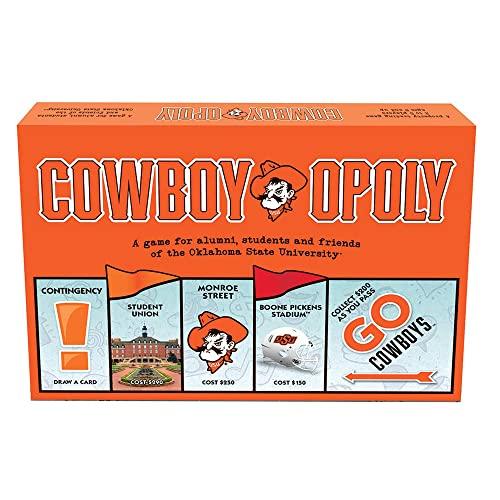 ボードゲーム 英語 アメリカ 海外ゲーム 【送料無料】Late for the Sky Oklahoma State University - Cowboyopolyボードゲーム 英語 アメリカ 海外ゲーム