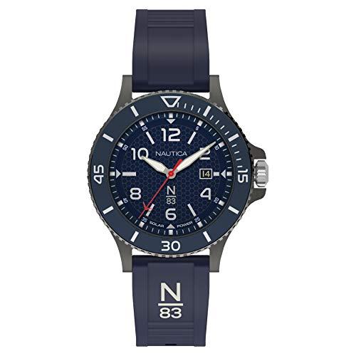 ノーティカ 腕時計 メンズ 【送料無料】Nautica N83 Men's NAPCBS911 Cocoa Beach Blue Silicone Strap Watchノーティカ 腕時計 メンズ